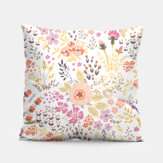 Miniatur flower power Pillow, Live Heroes