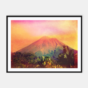 Thumbnail image of Adalita Volcan Framed poster, Live Heroes