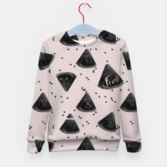 Miniatur Watermelon with the Seeds Kid's sweater, Live Heroes
