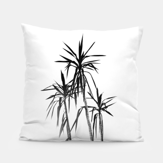 Miniatur Palm Trees - White Cali Summer Vibes #1 #decor #art Kissen, Live Heroes