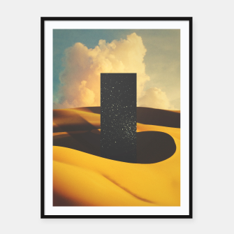 Thumbnail image of Monolith I Framed poster, Live Heroes