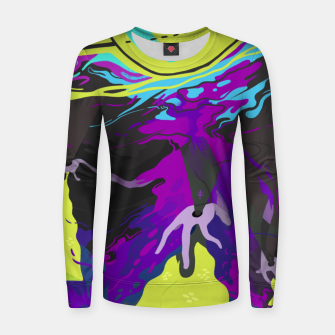 Thumbnail image of Ether Woman cotton sweater, Live Heroes