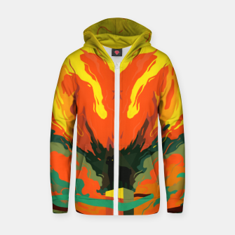 Thumbnail image of Ritual Cotton zip up hoodie, Live Heroes
