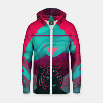 Thumbnail image of Phobia Cotton zip up hoodie, Live Heroes