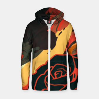 Thumbnail image of Pivot Cotton zip up hoodie, Live Heroes