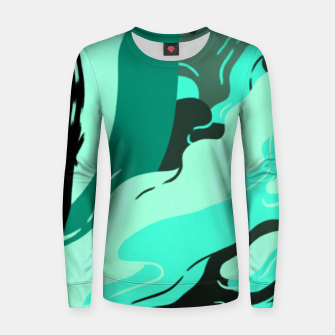 Thumbnail image of Muse Woman cotton sweater, Live Heroes