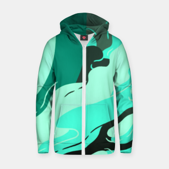 Thumbnail image of Muse Cotton zip up hoodie, Live Heroes