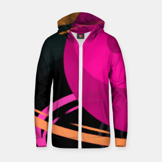 Thumbnail image of Zen Cotton zip up hoodie, Live Heroes