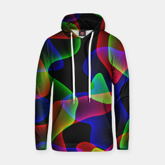 Thumbnail image of Plasma Color Waves Cotton hoodie, Live Heroes