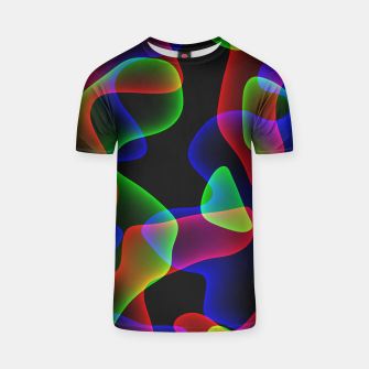 Thumbnail image of Plasma Color Waves T-shirt, Live Heroes