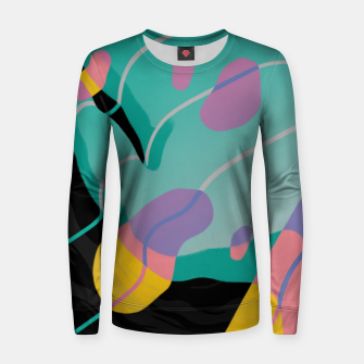 Thumbnail image of Float Woman cotton sweater, Live Heroes