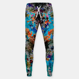 Thumbnail image of TTEQOTGCubismINV SGDRKDP BLUE Cotton sweatpants, Live Heroes