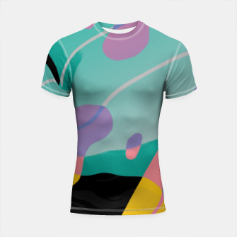 Thumbnail image of Float Shortsleeve rashguard, Live Heroes