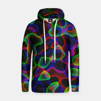 Thumbnail image of Plasma Color Waves Small Cotton hoodie, Live Heroes