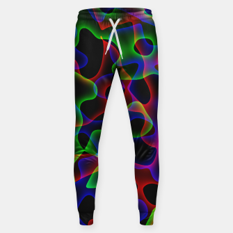 Thumbnail image of Plasma Color Waves Small Cotton sweatpants, Live Heroes
