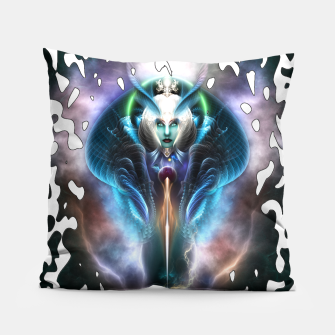 Thumbnail image of Thera The Ethereal Queen Splatter Motif Pillow, Live Heroes