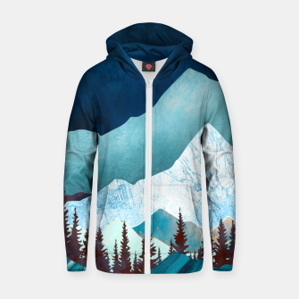 Thumbnail image of Moon Bay Cotton zip up hoodie, Live Heroes