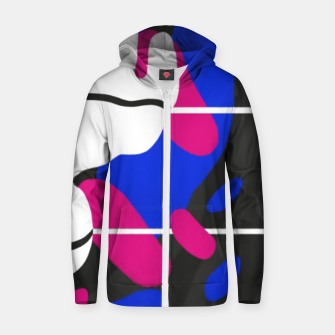 Thumbnail image of Isolate Cotton zip up hoodie, Live Heroes