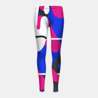 Thumbnail image of Isolate Girl's leggings, Live Heroes