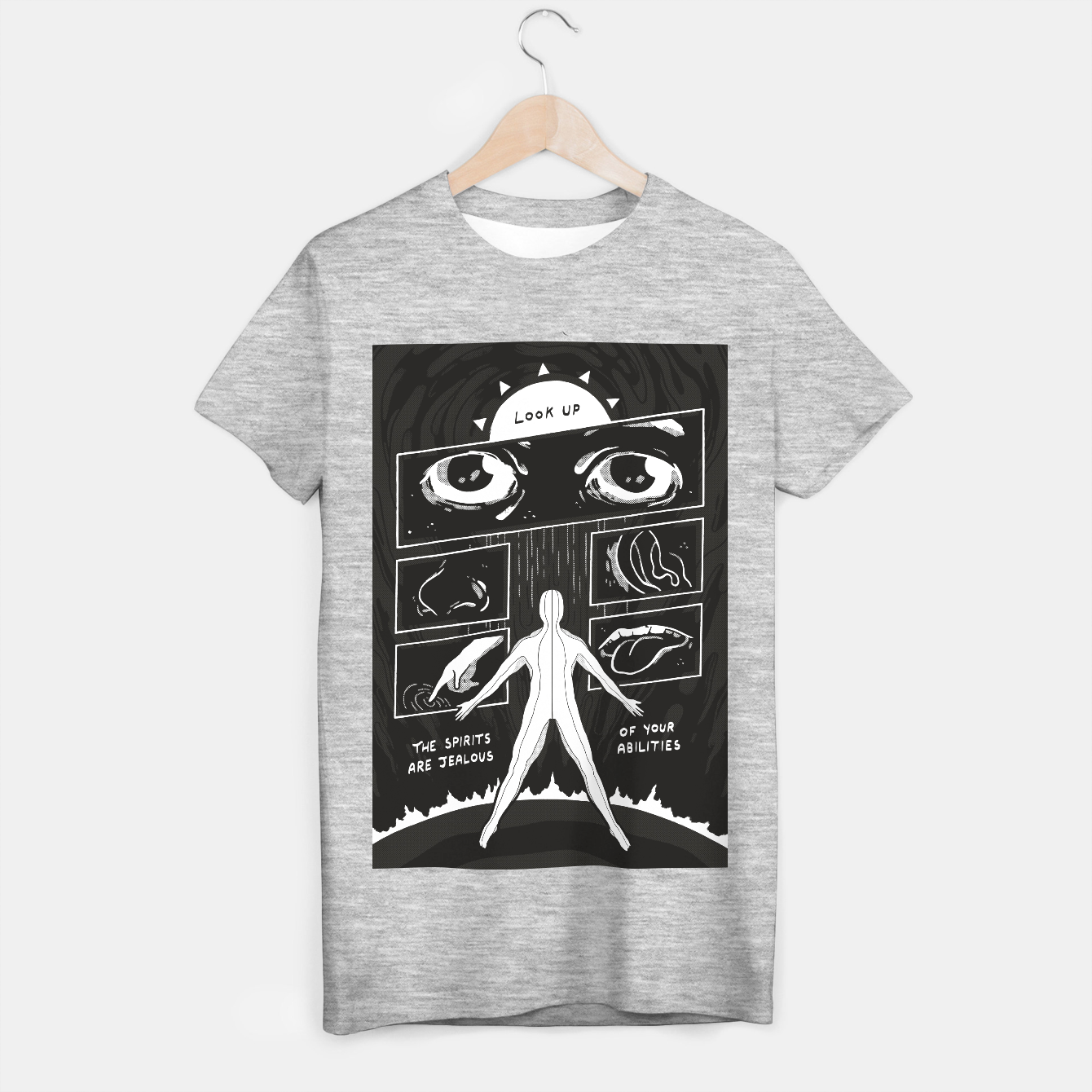 Image of Look Up T-shirt regular - Live Heroes