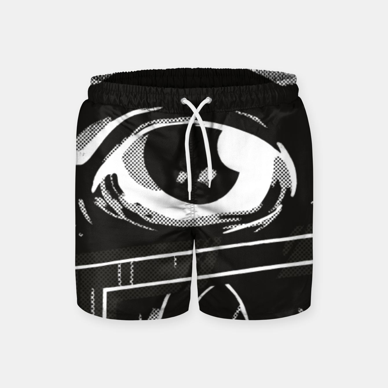 Image of Look Up Swim Shorts - Live Heroes