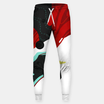 Thumbnail image of Growth Cotton sweatpants, Live Heroes