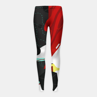 Thumbnail image of Growth Girl's leggings, Live Heroes