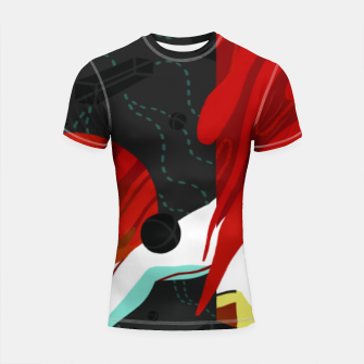 Thumbnail image of Growth Shortsleeve rashguard, Live Heroes