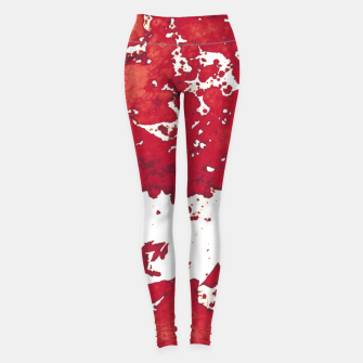 Miniatur Red white Leggings, Live Heroes