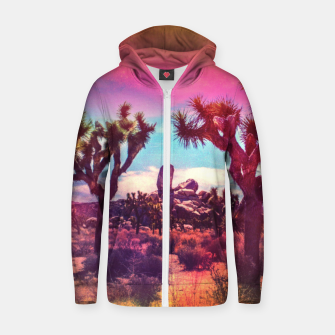 Thumbnail image of Jupiter Desert Cotton zip up hoodie, Live Heroes