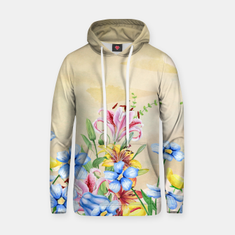Thumbnail image of Snowlily Cotton hoodie, Live Heroes