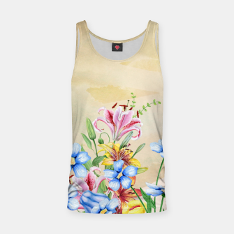 Thumbnail image of Snowlily Tank Top, Live Heroes