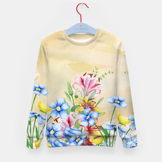 Thumbnail image of Snowlily Kid's sweater, Live Heroes