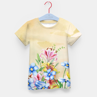 Thumbnail image of Snowlily Kid's t-shirt, Live Heroes