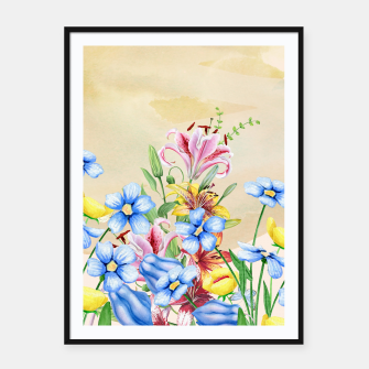 Thumbnail image of Snowlily Framed poster, Live Heroes
