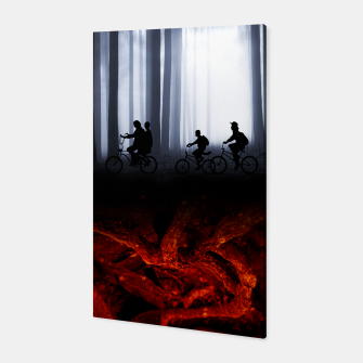 Thumbnail image of Stranger things Toile, Live Heroes