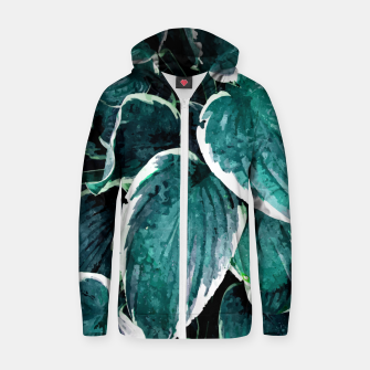 Thumbnail image of Sacred Edge Cotton zip up hoodie, Live Heroes