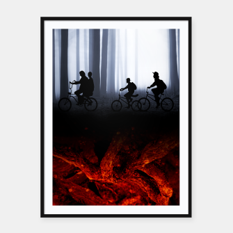 Thumbnail image of Stranger things Affiche et cadre, Live Heroes