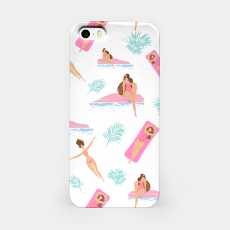 Thumbnail image of Enjoy summer on the pool iPhone Case, Live Heroes