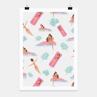 Thumbnail image of Enjoy summer on the pool Poster, Live Heroes