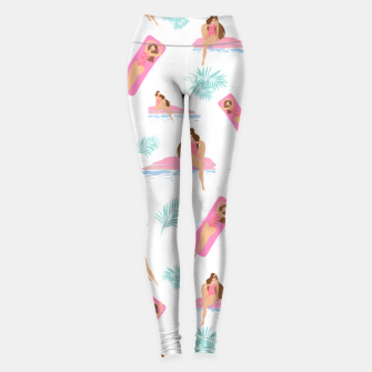 Miniatur Enjoy summer on the pool Leggings, Live Heroes