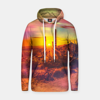 Thumbnail image of Jupiter Desert: Morning Cotton hoodie, Live Heroes