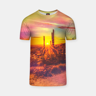 Thumbnail image of Jupiter Desert: Morning T-shirt, Live Heroes
