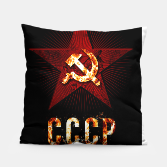 Thumbnail image of CCCP logo Coussin, Live Heroes