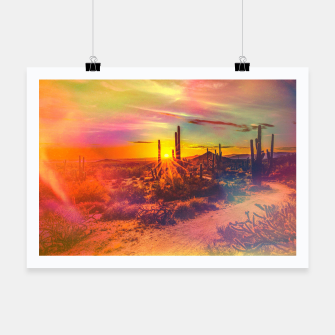 Thumbnail image of Jupiter Desert: Morning Poster, Live Heroes