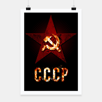Thumbnail image of CCCP logo Affiche, Live Heroes