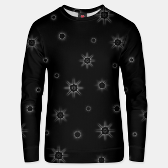 Thumbnail image of Abstract geometric pattern - black and white. Cotton sweater, Live Heroes