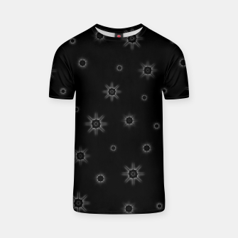 Thumbnail image of Abstract geometric pattern - black and white. T-shirt, Live Heroes