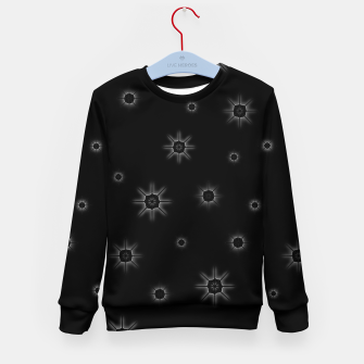 Thumbnail image of Abstract geometric pattern - black and white. Kid's sweater, Live Heroes