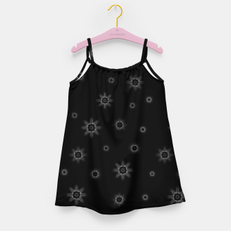 Thumbnail image of Abstract geometric pattern - black and white. Girl's dress, Live Heroes